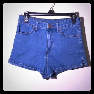 Urban Outfitters Super High Rise Denim Shorts